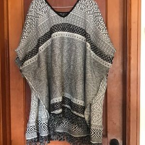 Poncho from Maurices